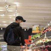 Coronavirus mascareta supermercat compra lidl - Sergi Alcàzar