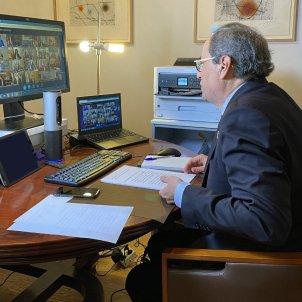 Torra reunió presidents coronavirus Jordi Bedmar