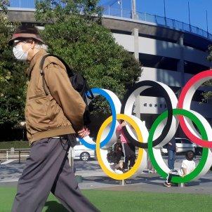 Jocs Olimpics Toquio 2020 anelles olimpiques JJOO EFE