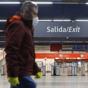 coronavirus   metro  nuevos ministerios  madrid  EFE