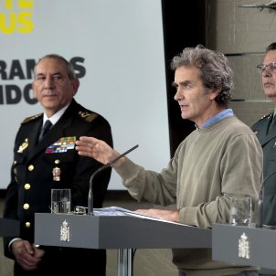 Comitè tècnic coronavirus Fernando Simon - EFE
