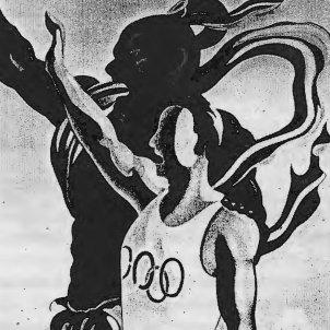 Cartell Jocs Olímpics Tòquio 1940 CC