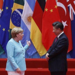 Merkel Xi Jinping EFE
