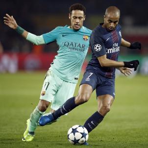 Neymar Lucas Moura PSG Barça EFE
