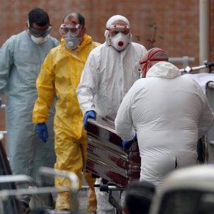 coronavirus morgue mort bilbao   efe