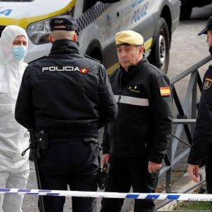 coronavirus morgue policia nacional Madrid Palacio de hielo - Efe