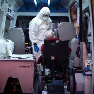 coronavirus interior ambulancia   EFE