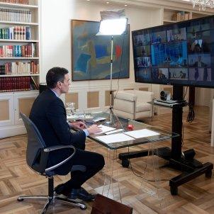 Sanchez videoconferencia UE coronavirus - efe