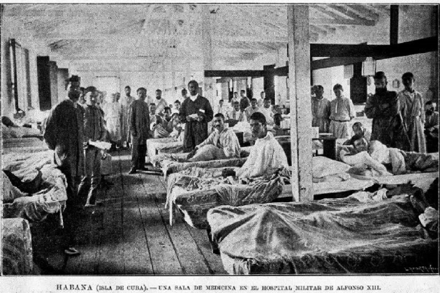 Hospital Militar de l'Havana. Font Dialnet (Universitat de la Rioja)