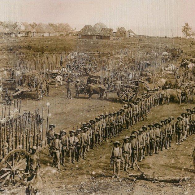 L'exèrcit colonial espanyol a Cuba. Font Wikimedia Commons
