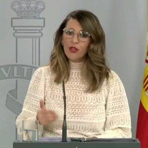 YOLANDA DIAZ MINISTRA DIUMENGE 29 MARÇ