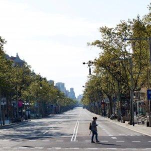 barcelona carrers buides efe