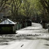 barcelona carrers buits efe