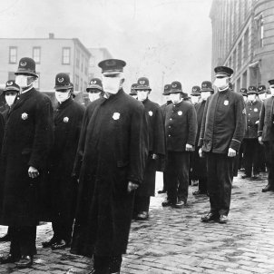Grip espanyola mascaretes 1918