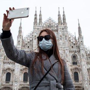 coronavirus mascareta Itàlia Milà Europa - Efe