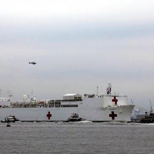 Vaixell hospital Nova york coronavirus - Efe