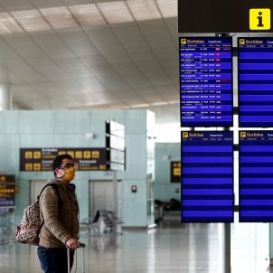 Aeroport Prat T2 coronavirus EFE