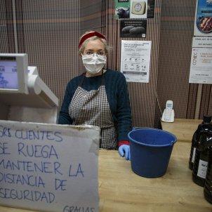 Coronavirus mascareta comerç botiga gracia - Sergi Alcàzar