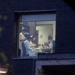 Hospital Sant Pau Barcelona metges coronavirus EFE