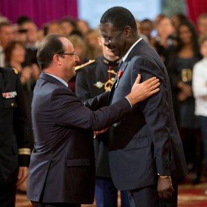 Francois Hollande Pape Diouf EFE