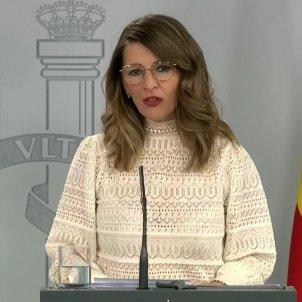 Yolanda Diaz EFE