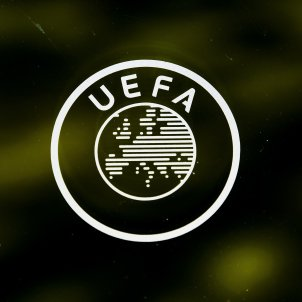 Logo escut UEFA Champions EFE