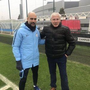 Pep Guardiola Luis Fernández @Fernandez beIN