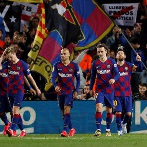 Messi Griezmann Braithwaite De Jong Barca gol EFE