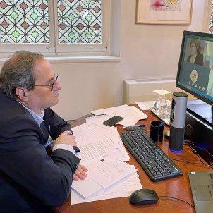 Quim torra videoconferencia generalitat jordi bedmar 1