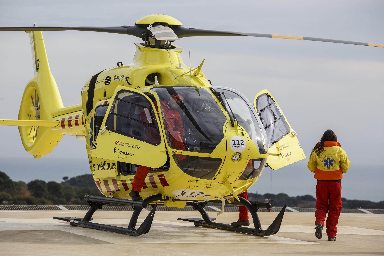 Helicopter emergències rescats SEM - Sergi Alcàzar