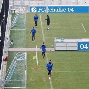 Schalke 04 entrenament EFE