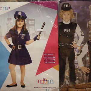Disfressa infantil policia - Sergi Alcàzar