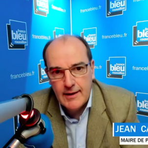 Jean Castex alcalde Prada de Conflent France Bleu Roussillon