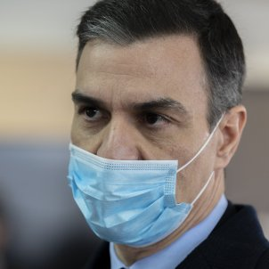 pedro sanchez fabrica respiradors coronavirus Pool Moncloa/Borja Puig de la Bellacasa