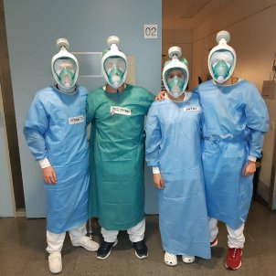 mascaretes decathlon hospital sant pau