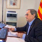 Torra conferencia telematica presidents coronavirus - Jordi Bedmar