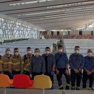 Bombers hospital temporal valles coronavirus - @bomberscat