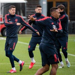 Bayern Munic entrenament Lewandowski Europa Press