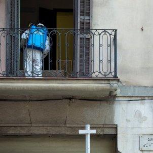 coronavirus desinfeccio residencia   barcelona   EFE