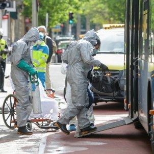 coronavirus trasllat malalts   hospital princesa   madrid   europa press (3)