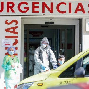 coronavirus trasllat malalts   hospital princesa   madrid   europa press