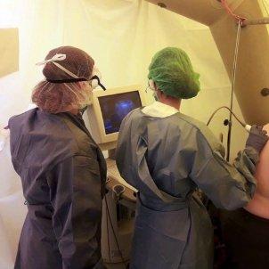 ecografia pulmonar ICS