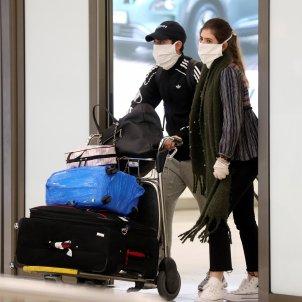 coronavirus aeroport viatgers - Efe