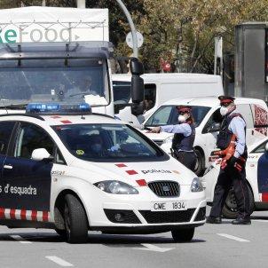 coronavirus   controls policials   mossos   barcelona   efe