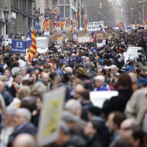 Manifestació refugiats - Sergi Alcàzar