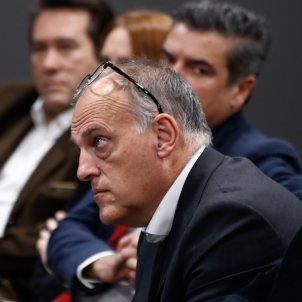 Javier Tebas President Lliga Europa Press