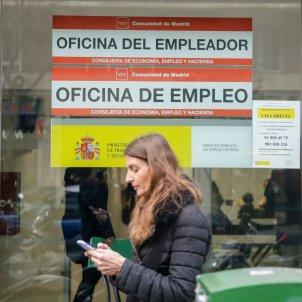 Oficina de empleo en época de coronavirus. Foto: EuropaPress