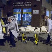 Mort Avi Residencia memora coronavirus Barcelona - Sergi Alcazar