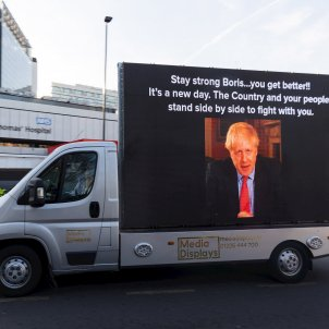 Boris Johnson coronavirus EFE