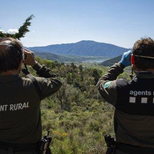 Agents Rurals prismàtics mascareta Tremp pantà Sant Agusti Coronavirus - Sergi Alcazar
